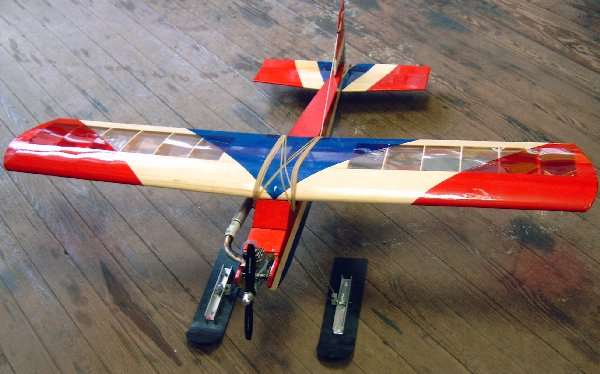 Model Airplane Skis